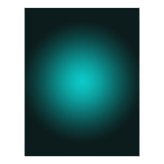 Personalize - Teal ombre gradient background 21.5 Cm X 28 Cm Flyer