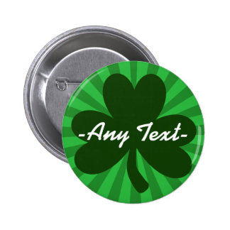 Personalize This St Patrick's Day 6 Cm Round Badge