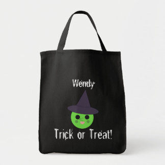 Personalize Witch Trick or Treat Bag