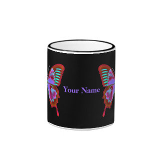 Personalize with Your Name - Butterfly Mug