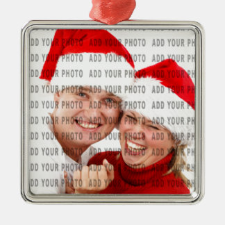Personalize with your picture ornament