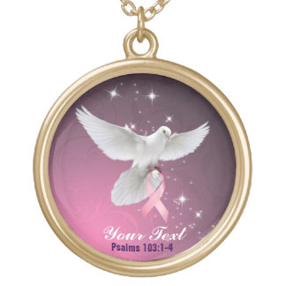 Personalize Your Breast Cancer Necklace