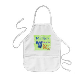 Personalize Your Childs Apron