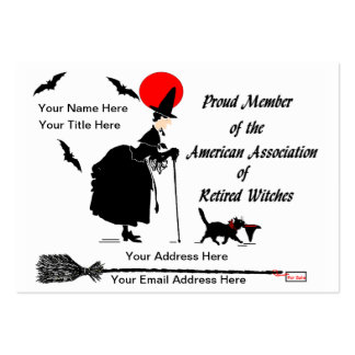 Personalize your own humorous calling card pack of chubby business cards
