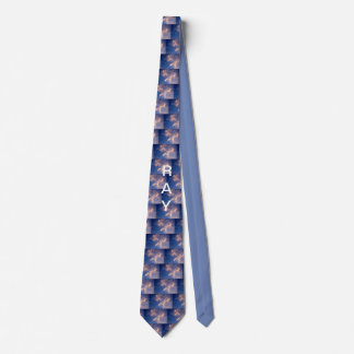 PERSONALIZE YOUR PATRIOTIC EAGLE TIE WITH NAME