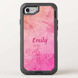 Personalize your Pretty Pink OtterBox Defender iPhone 7 Case