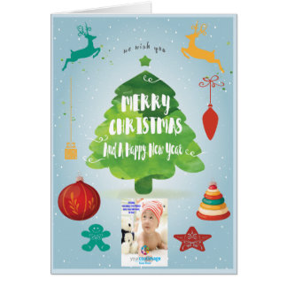 Personalize Your Seasons Greetings Card This Year