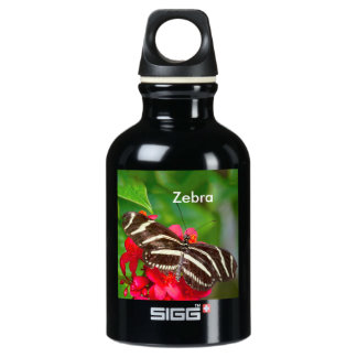 Personalize: Zebra Butterfly Nature Photography SIGG Traveller 0.3L Water Bottle