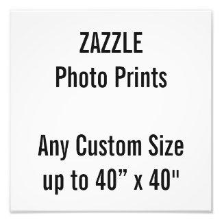 "Personalized 12"" x 12"" Photo Print, or custom size"