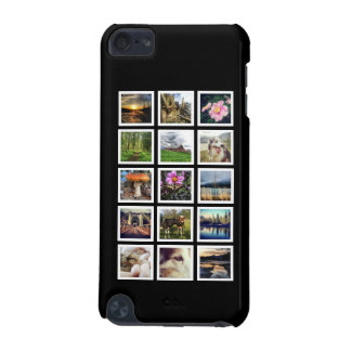Personalized 15 Instagram Photos in Collage iPod Touch (5th Generation) Cover