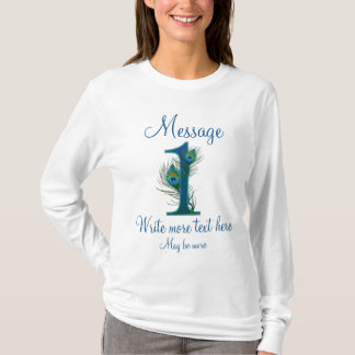 Personalized 1 classy 1st wedding anniversary T-Shirt