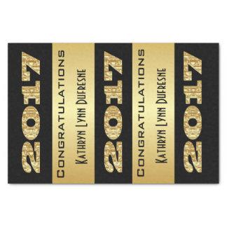 Personalized 2017 Graduation Tissue Paper