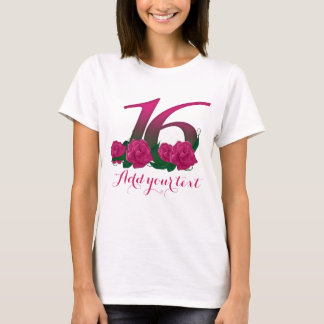Personalized 26th  customizable 16 template T-Shirt