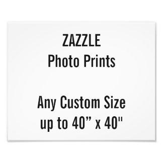 Personalized 30x24 cm Photo Print, or custom size