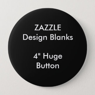 """Personalized 4"""" Huge Round Button Template"""