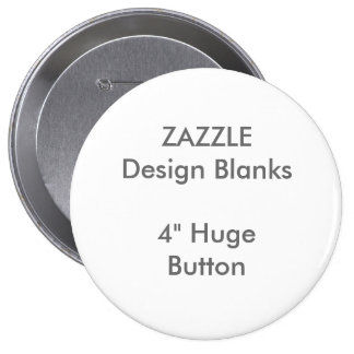 "Personalized 4"" Huge Round Button Template"