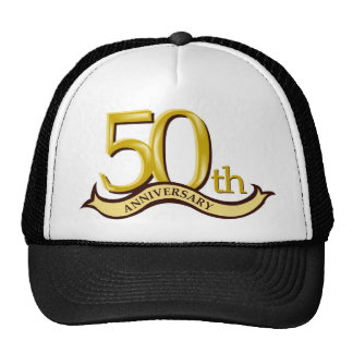 Personalized 50th Anniversary Gift Cap