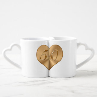 Personalized 50th Wedding Anniversary Gifts MUGS Lovers Mug Sets
