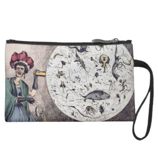 Personalized Abtract Art Telescope Wristlet