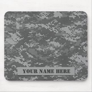 Personalized ACU Camouflage Mousepad