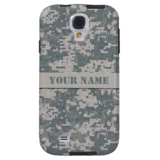 Personalized ACU Digital Camo Samsung Galaxy S4 Galaxy S4 Case