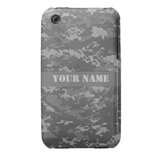Personalized ACU Digital Camouflage iPhone 3 Case. iPhone 3 Case