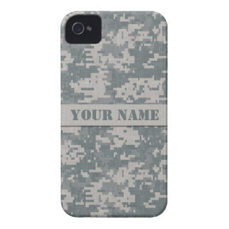 Personalized ACU Digital Camouflage iPhone 4 Case-Mate iPhone 4 Cases