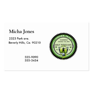 Personalized Add Your Name Soccer Team Logo Business Card Template