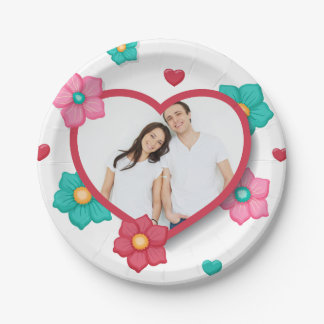 Personalized Add Your Own Photo Paper Plate
