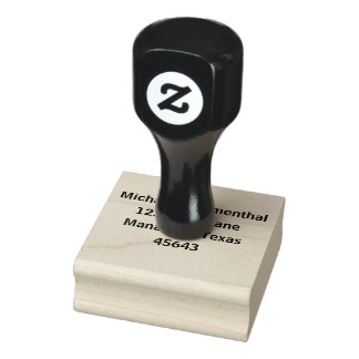 Personalized Address Rubber Stamp