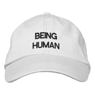 Personalized Adjustable Hat BEING HUMAN Embroidered Cap