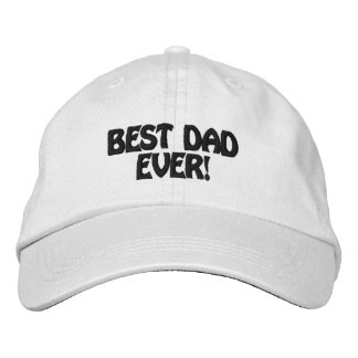 Personalized Adjustable Hat best dad ever