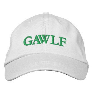 Personalized Adjustable Hat - GAWLF Embroidered Hat