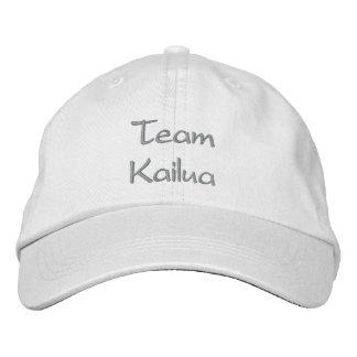 Personalized Adjustable Hat Team Kailua Baseball Cap