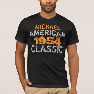 Personalized American Classic Birthday T-Shirt
