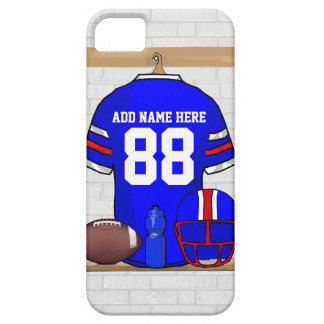 Personalized American Football Grid Iron jersey iPhone 5 Cover