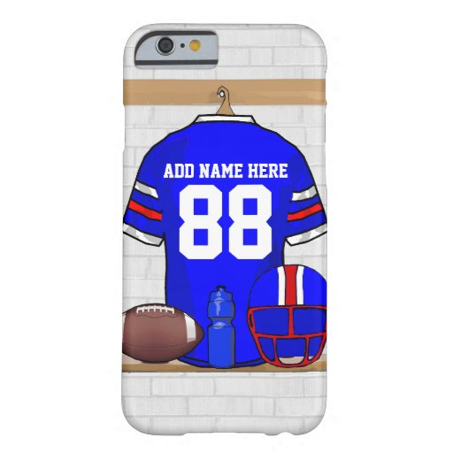 Personalized American Football Grid Iron jersey iPhone 6 Case