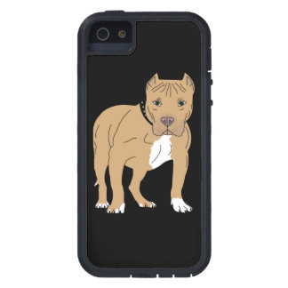 Personalized American Pitbull Dog Case For The iPhone 5