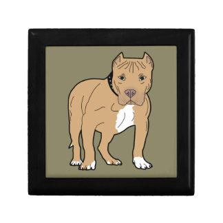 Personalized American Pitbull Dog Gift Box