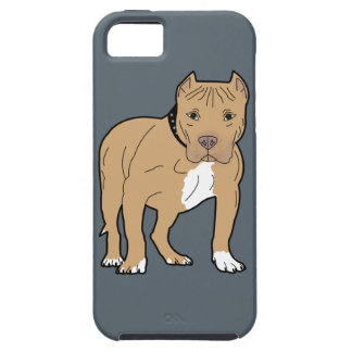Personalized American Pitbull Dog iPhone 5 Cases