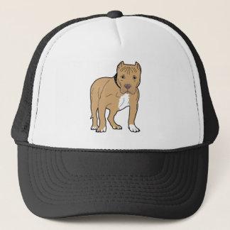 Personalized American Pitbull Dog Trucker Hat