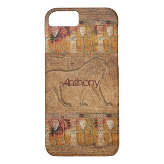 Personalized Ancient Egyptian Art iPhone 7 Case