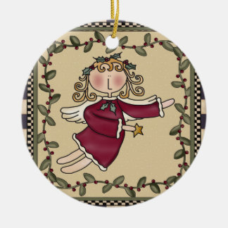 Personalized Angel Christmas Ornament