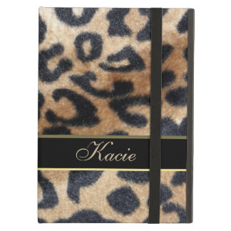 Personalized Animal Leopard Print iPad Air Case