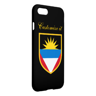 Personalized Antigua and Barbuda Flag iPhone 7 Case