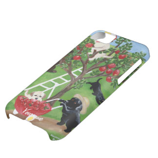 Personalized Apple Tree Labradors iPhone 5C Case