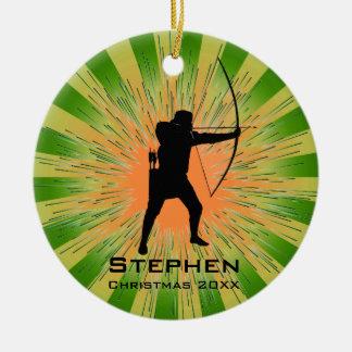 Personalized Archery Ornament