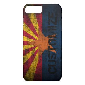 Personalized Arizona Flag Vintage Grunge iPhone 7 Plus Case