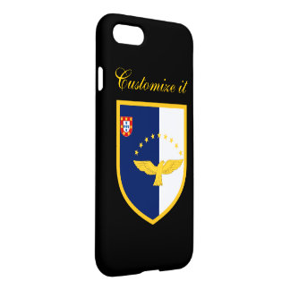 Personalized Azores Flag iPhone 8/7 Case