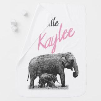 "Personalized Baby Girl Blanket ""Little Kaylee"""
